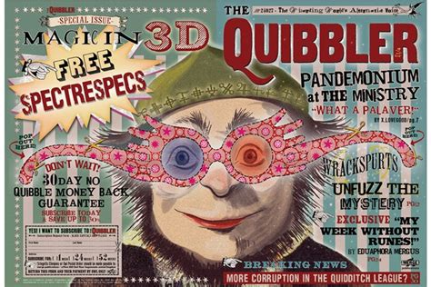free printable quibbler the quibbler harry potter minalima exhibition