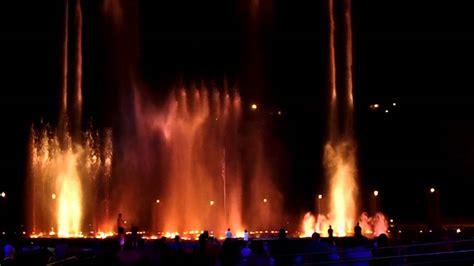 scow landing branson landing fountain show youtube