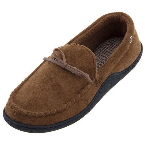 best rated mens house slippers isotoner mens slippers size chart mount mercy university