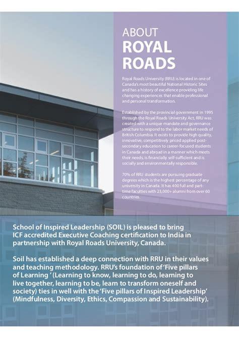 Royal Roads Mba Program by Coaching Brochure