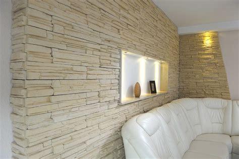 pareti in pietra interni rivestimento in pietra ricostruita murok montana weser