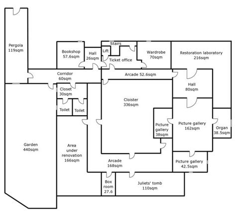 Veterinary Clinic Floor Plans figure 32 a floor plan diagram used in evaluation