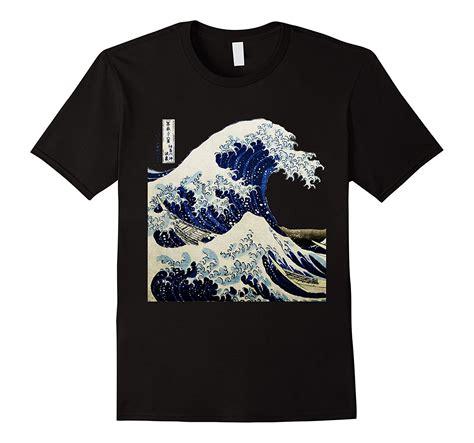 tshirt ra jns 17 navy kanagawa japanese the great wave t shirt rt rateeshirt