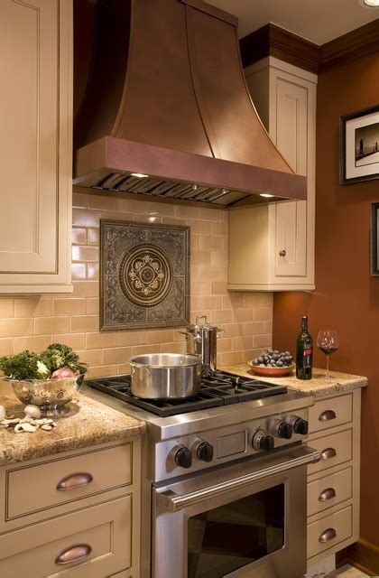 kitchen with copper accent panels my decorating style pinboard pi english tudor kitchen traditional kitchen portland