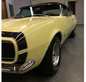 1967 Camaro RS Convertible Over 20 Factory Options