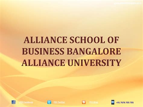 Alliance Mba Placements by Alliance School Of Business Bangalore Mba Alliance