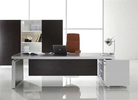 Contemporary Office Desk Modern Executive Office Furniture Style Yvotube