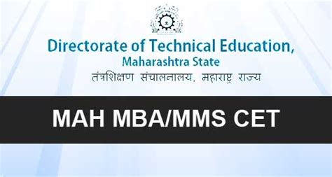 Information Of Mba Cet by Mah Mba Cet Admissions To Year Mba