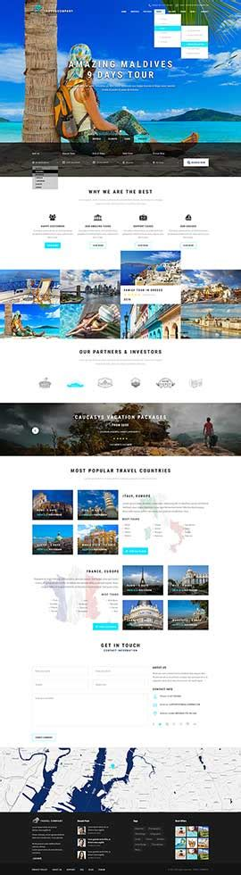 templates bootstrap travel html templates bootstrap templates themes