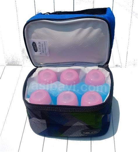Freezer Asi Murah rekomen tas cooler bag asi murah soleil soft cooler lunch