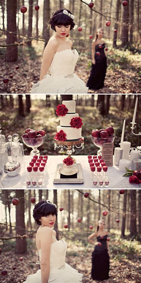 A Bridal Inspiration Shoot inspired by Mirror Mirror and