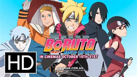 boruto naruto   official full trailer youtube