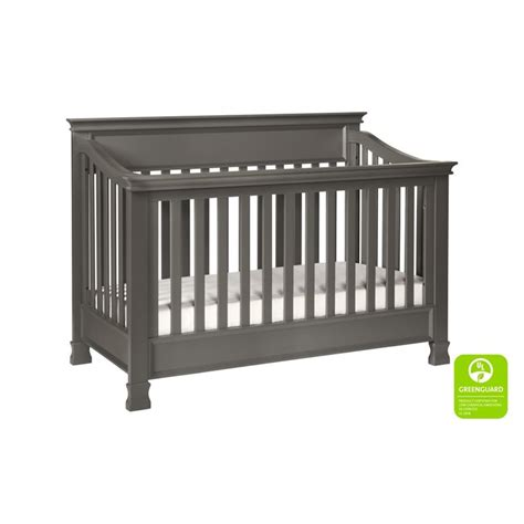 Million Dollar Baby Foothill Crib Million Dollar Baby Classic Foothill 4 In 1 Convertible Crib In Gray M3901mg