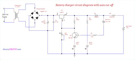 12v car battery charger schematic diagram wiring diagram