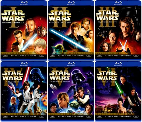 saga of the sw star wars saga gets the lucas touch once again blu ray