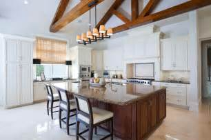 Lighting For Cathedral Ceiling In The Kitchen 37 Fantastic L Shaped Kitchen Designs