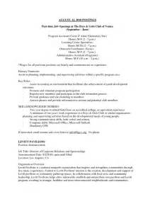 sample resume format resume for part time job template