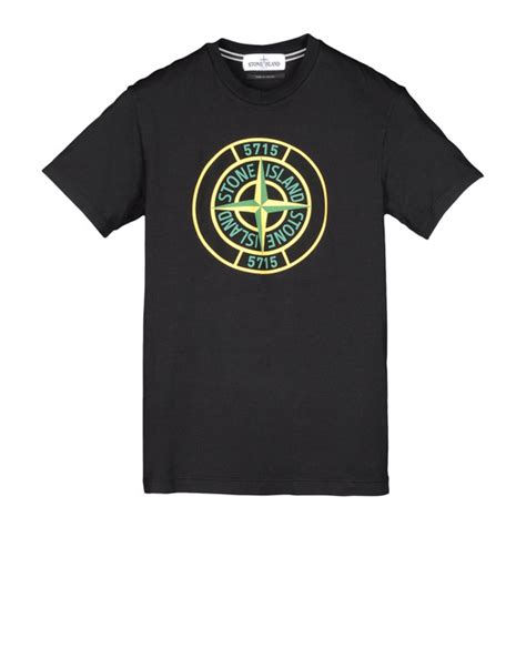 desain jersey vilour short sleeve t shirt stone island men official online store