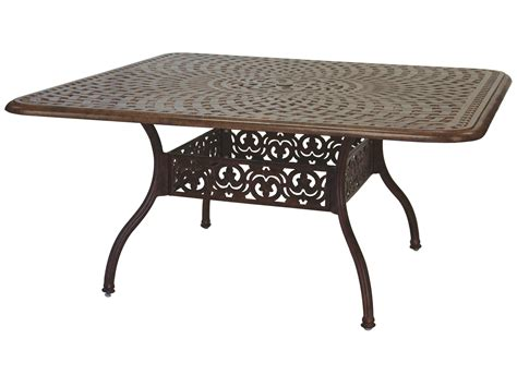 60 Patio Table Darlee Outdoor Living Series 60 Cast Aluminum 60 Square