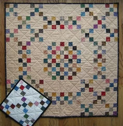 quilt pattern galore nine patches galore miniature quilt table runners