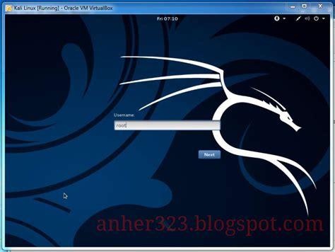 tutorial install kali linux di virtualbox cara install kali linux 2 0 sana di virtualbox anherr blog s