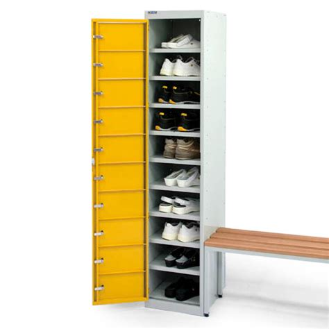 shoe locker esd shoe locker with ten compartments static safe