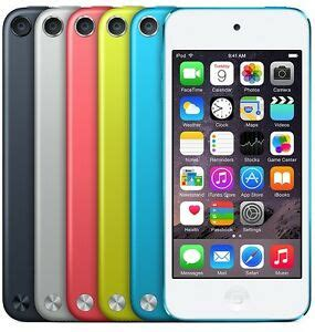 ipod touch 6 colors apple ipod touch 5th generation ios 6 version all