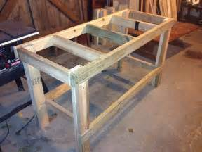 free work bench plans ana white quick easy workbench diy projects