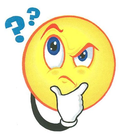 emoji question face smiley question clipart best