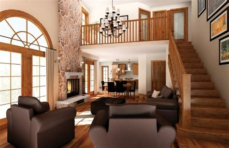 open floor plans house furniture