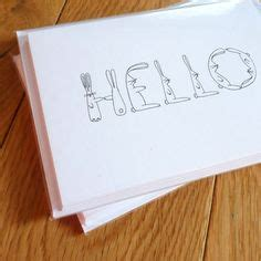 Hello Card Pack Isi 4 1000 images about cards stationary on wedding invitations invitations and