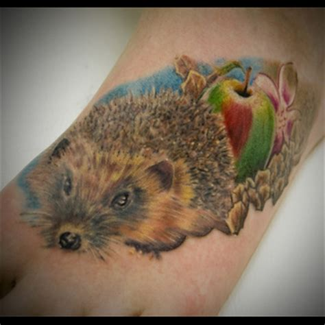 hedgehog tattoo hedgehog meanings itattoodesigns