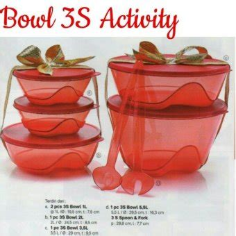 2 Pcs Sambal Dish Tupperware daftar harga tupperware terbaru murah update september