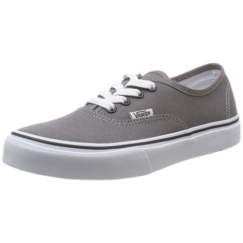 ebay vans vans authentic grey shoes pewter black men sneakers ebay