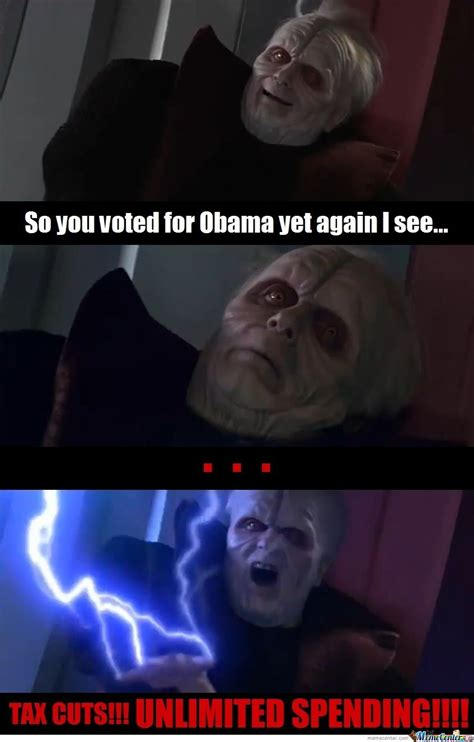 Darth Sidious Meme - darth sidious s election 2012 reaction by chris lindsay