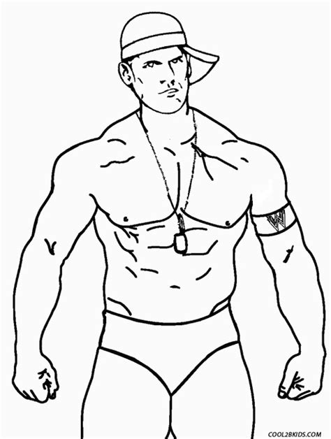 John Cena Coloring Pages Chuckbutt Com Cena Coloring Pages