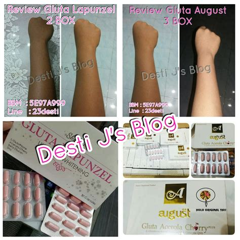 Gluta Lapunzel Dan Gluta Panacea desti j s gluta august review from costumer