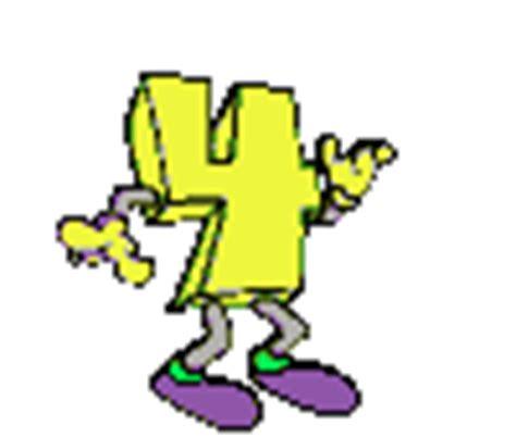 imagenes matematicas gif gifs de numeros animados amarillos