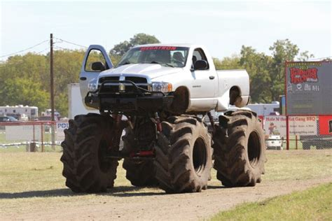 dodge mud truck rednecks with paychecks again mud life magazine
