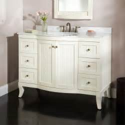 White Vanity 48 Quot Palmetto White Vanity Bathroom