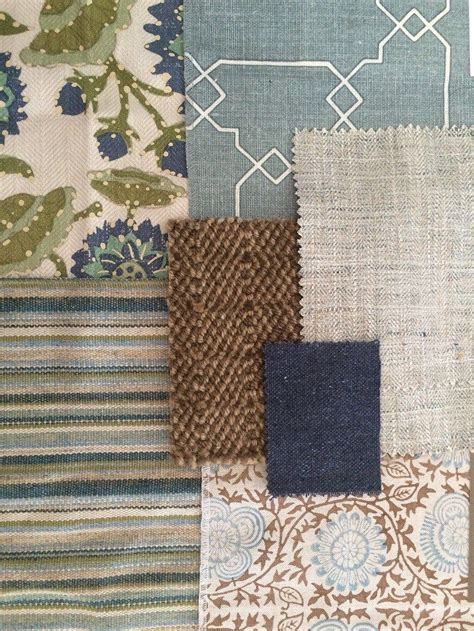 inspiring fabric combinations blue living room decor