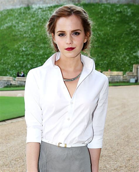emma watson merchandise emma watson 2014 memorable white shirt moments through