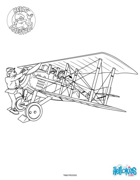 Orville Wright Coloring Pages Coloring Pages Wright Brothers Coloring Page