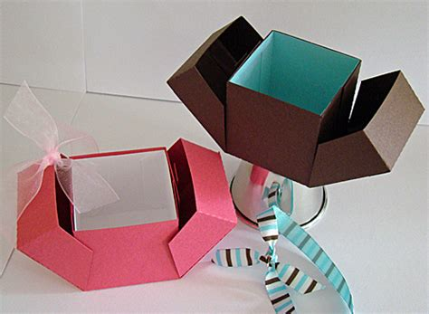 Origami Card Box - origami gift box by sherryg cards and paper crafts at