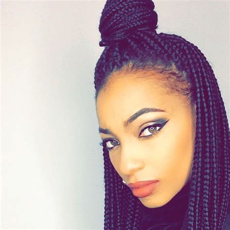box braids type of hair 65 box braids hairstyles for black women