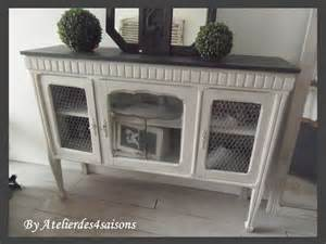 meuble tv buffet console grillag 201 patin 201 gris perle blanc