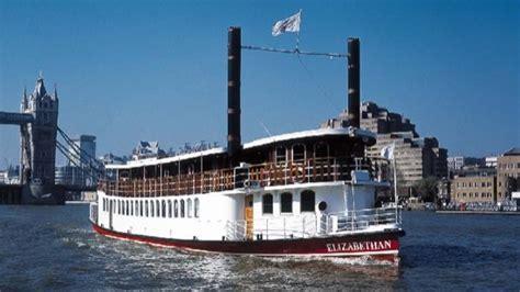 thames river boat bars ps elizabethan city of london