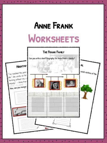 anne frank encyclopedia of world biography ella fitzgerald worksheets facts biography information