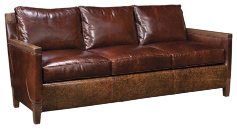 stickley leather sofa stickley orchard sofa living in