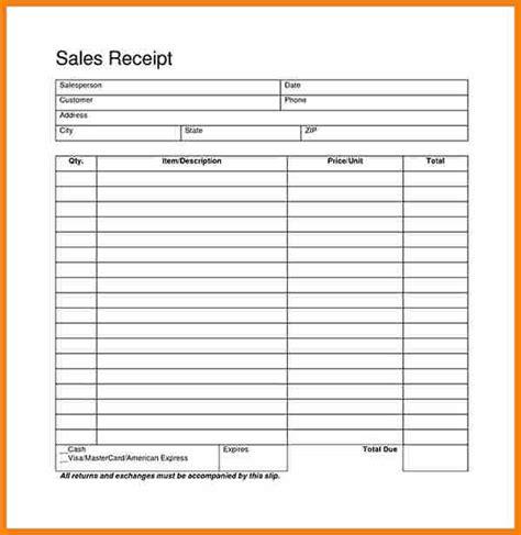 generic receipt template 12 generic receipt template housekeeper checklist